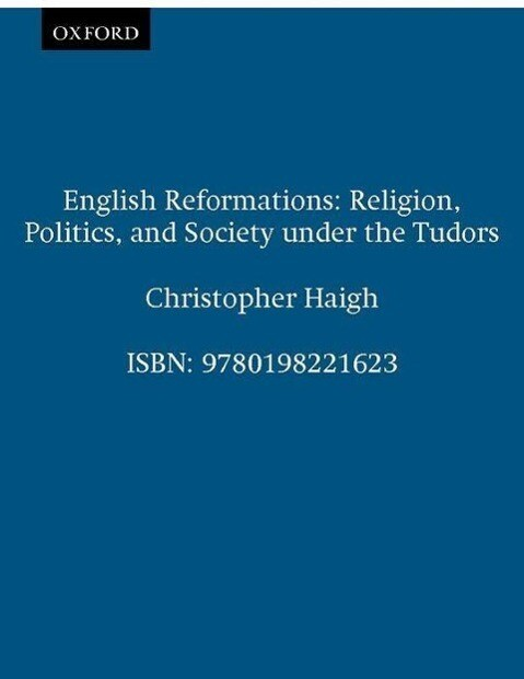 English Reformations als Buch