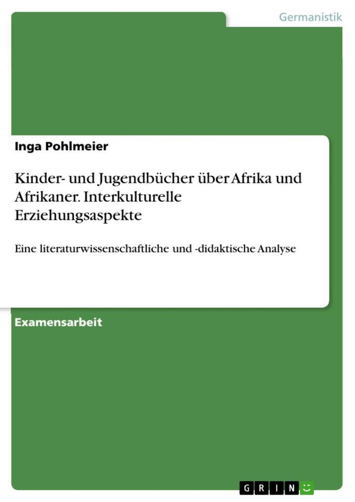 Kinder- und Jugendbücher über Afrika und Afrika...