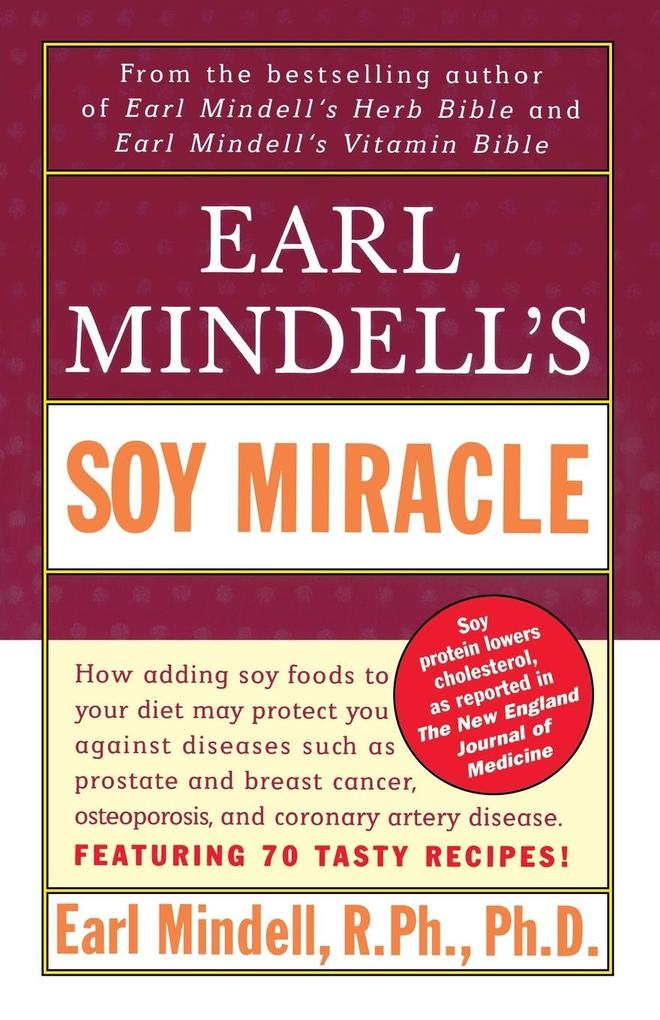 Earl Mindell's Soy Miracle als Taschenbuch