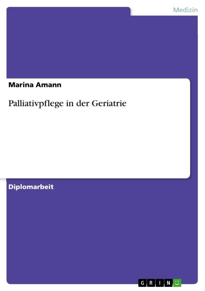 Palliativpflege in der Geriatrie als eBook Down...