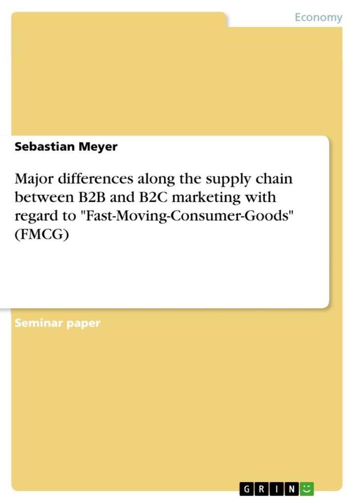 Major differences along the supply chain betwee...