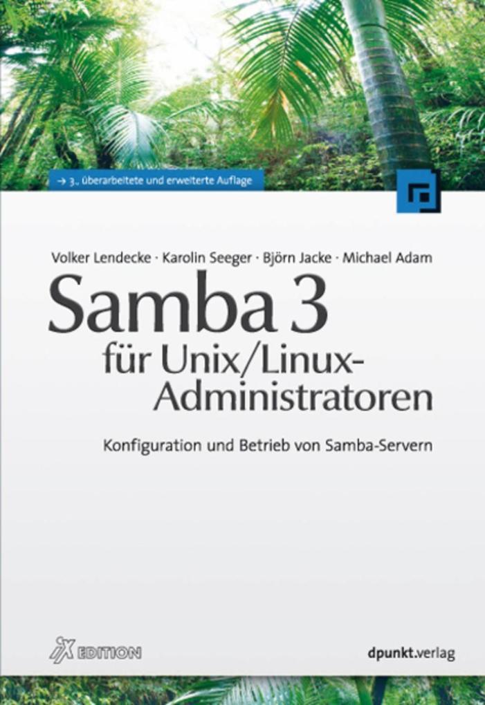 Samba 3 für Unix/Linux-Administratoren als eBoo...