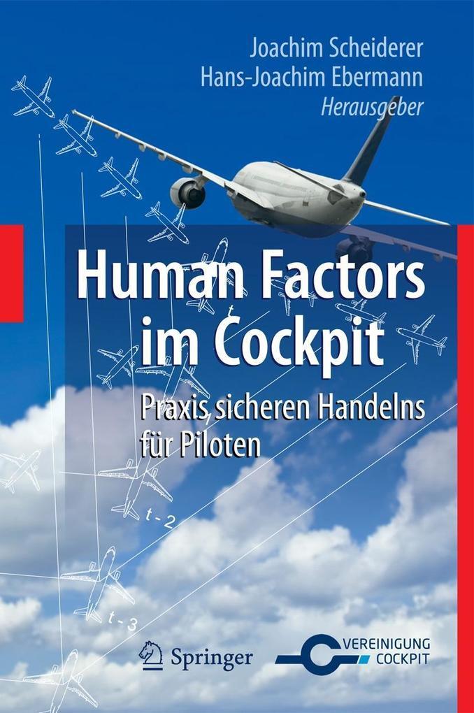 Human Factors im Cockpit als eBook
