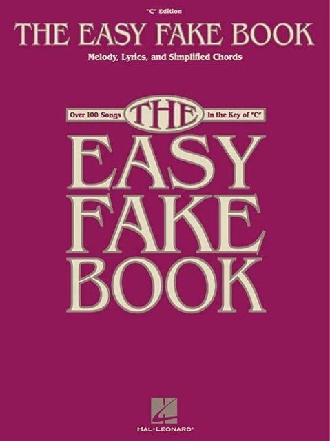 The Easy Fake Book als Taschenbuch