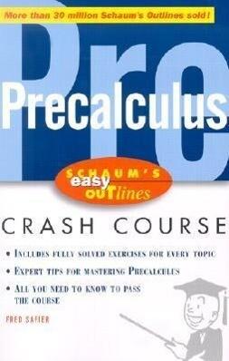 Schaum's Easy Outline of Precalculus als Buch