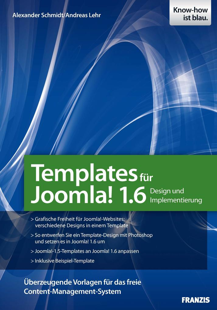 Templates für Joomla 1.6 als eBook Download von...