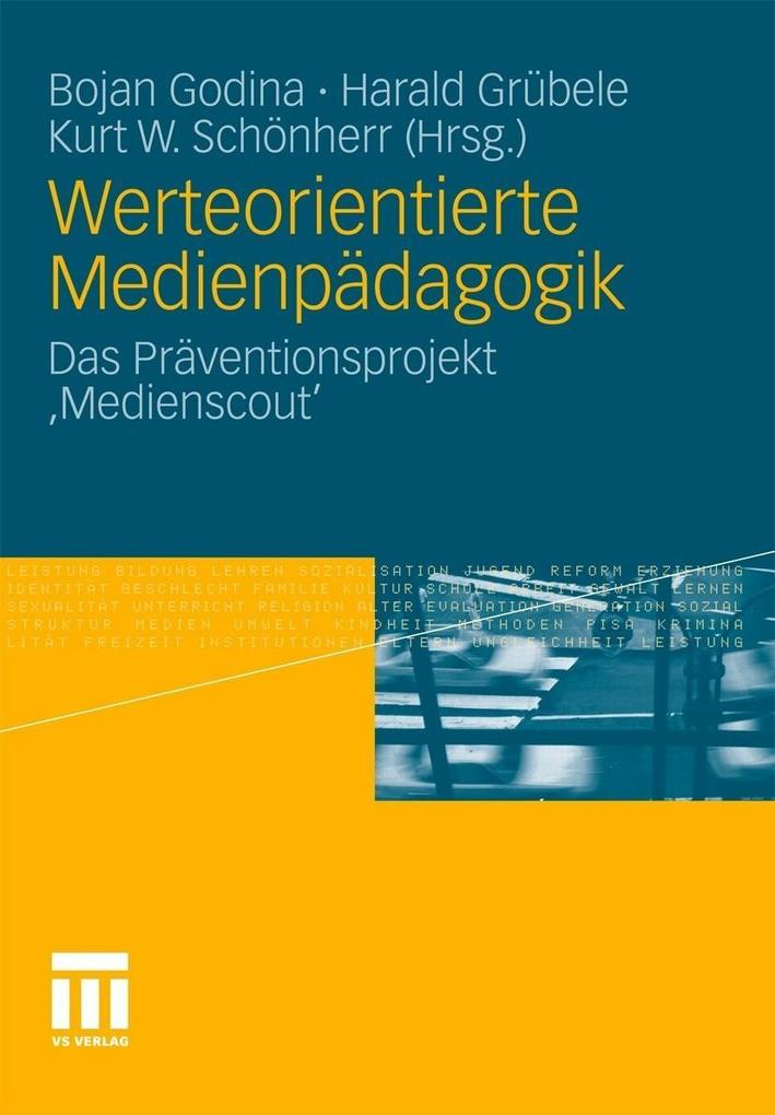 Werteorientierte Medienpädagogik als eBook Down...