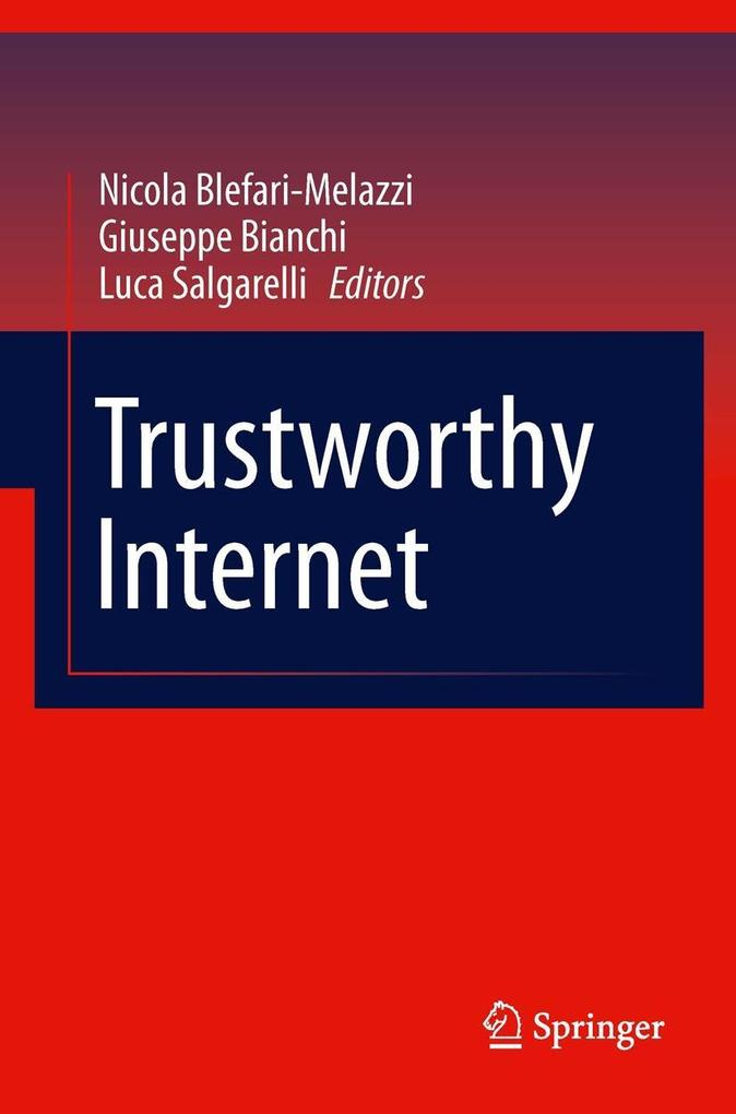 Trustworthy Internet als eBook Download von