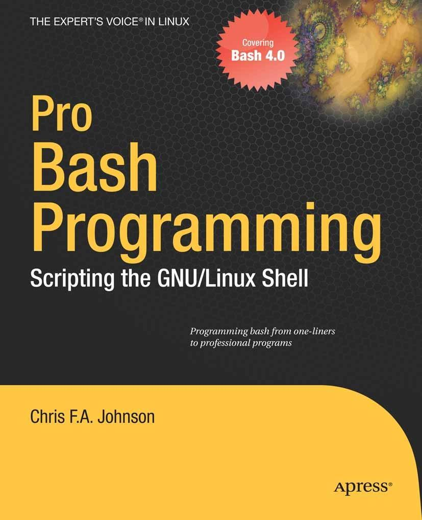Pro Bash Programming als eBook Download von Chr...