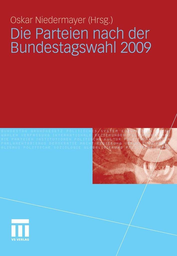 Die Parteien nach der Bundestagswahl 2009 als e...
