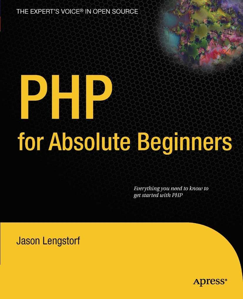 PHP for Absolute Beginners als eBook Download v...