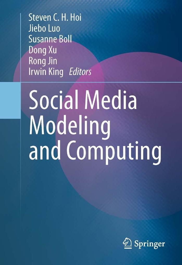Social Media Modeling and Computing als eBook D...