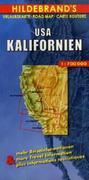 USA Kalifornien 1 : 700 000. Hildebrand's Urlaubskarte