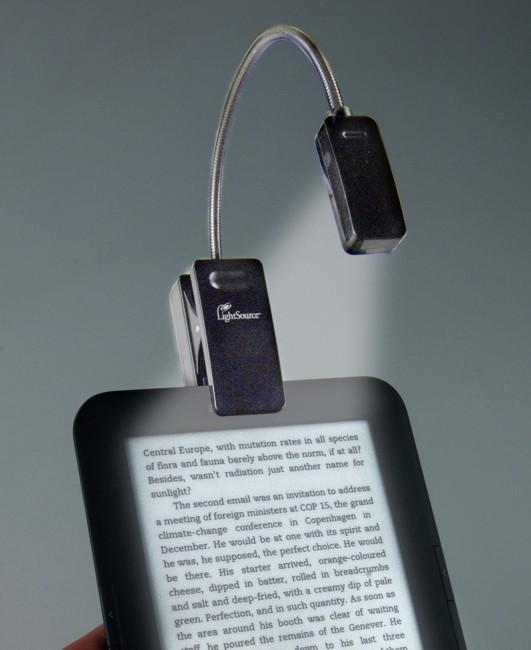 eBook Reader Booklight | Leselampe | Schwarz als Hardware