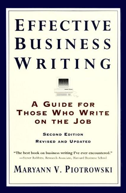 Effective Business Writing: Strategies, Suggestions and Examples als Taschenbuch