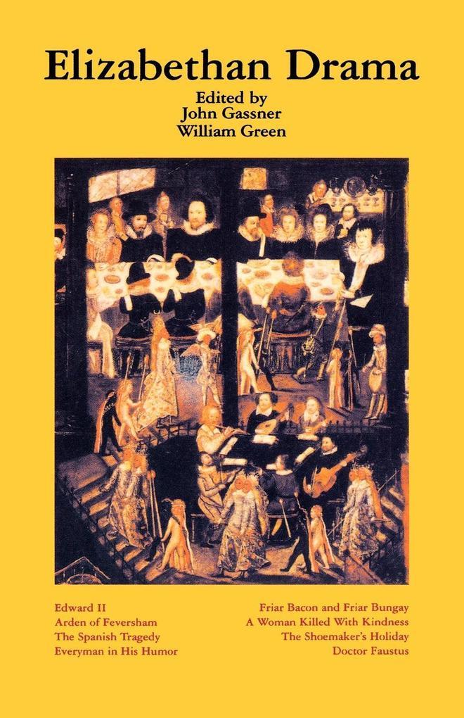 Elizabethan Drama: Eight Plays als Taschenbuch