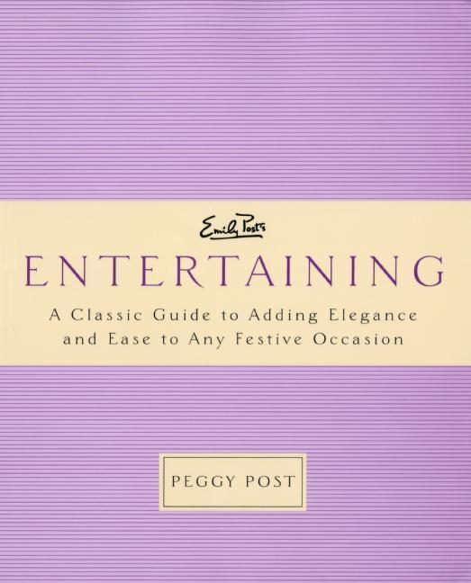 Emily Post's Entertaining als Taschenbuch