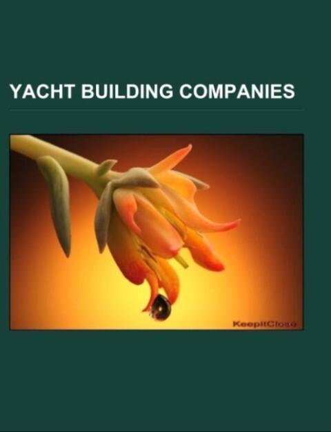 Yacht building companies als Taschenbuch von
