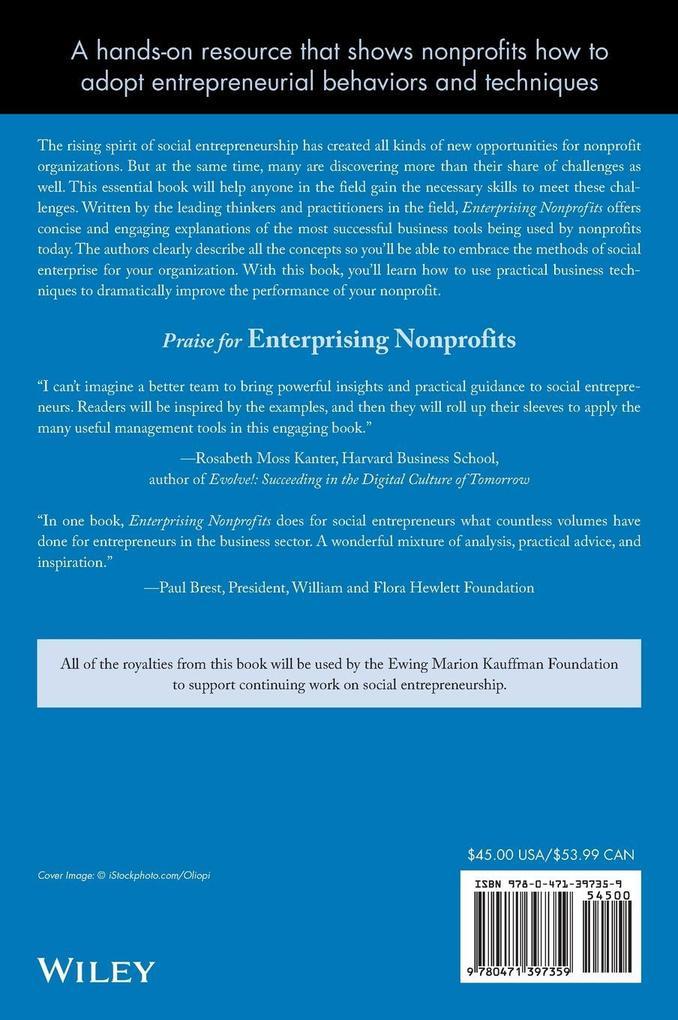 Enterprising Nonprofits als Buch