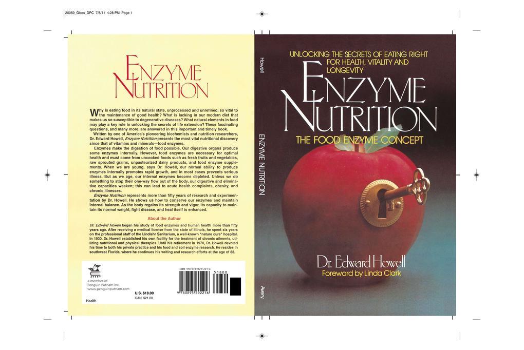 Enzyme Nutrition als Taschenbuch
