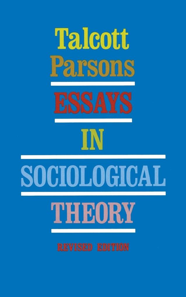 Essays in Sociological Theory (Revised) als Taschenbuch