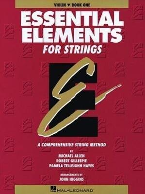 Essential Elements for Strings - Book 1 (Original Series): Violin als Taschenbuch