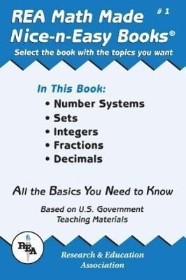 Math Made Nice & Easy #1: Number Systems, Sets, Integers, Fractions and Decimals als Taschenbuch