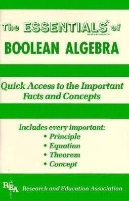 Boolean Algebra Essentials als Taschenbuch
