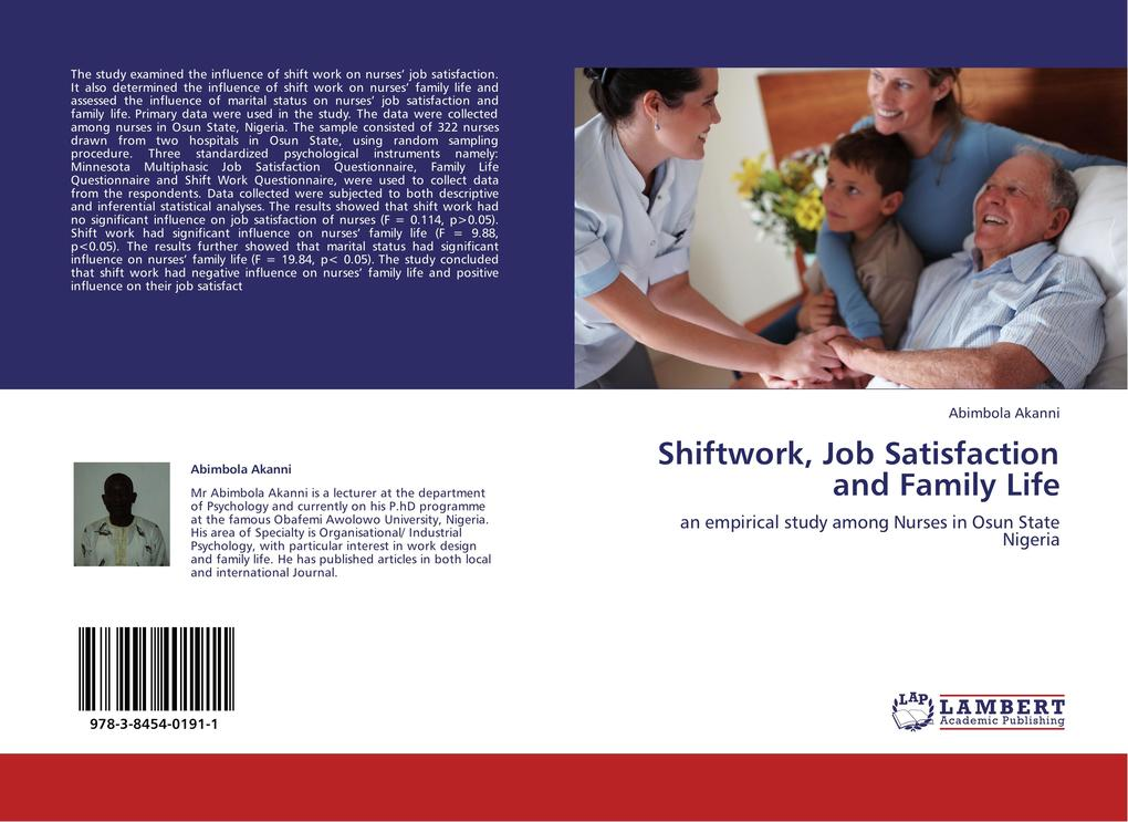 Shiftwork, Job Satisfaction and Family Life als...