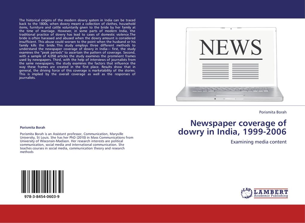 Newspaper coverage of dowry in India, 1999-2006...