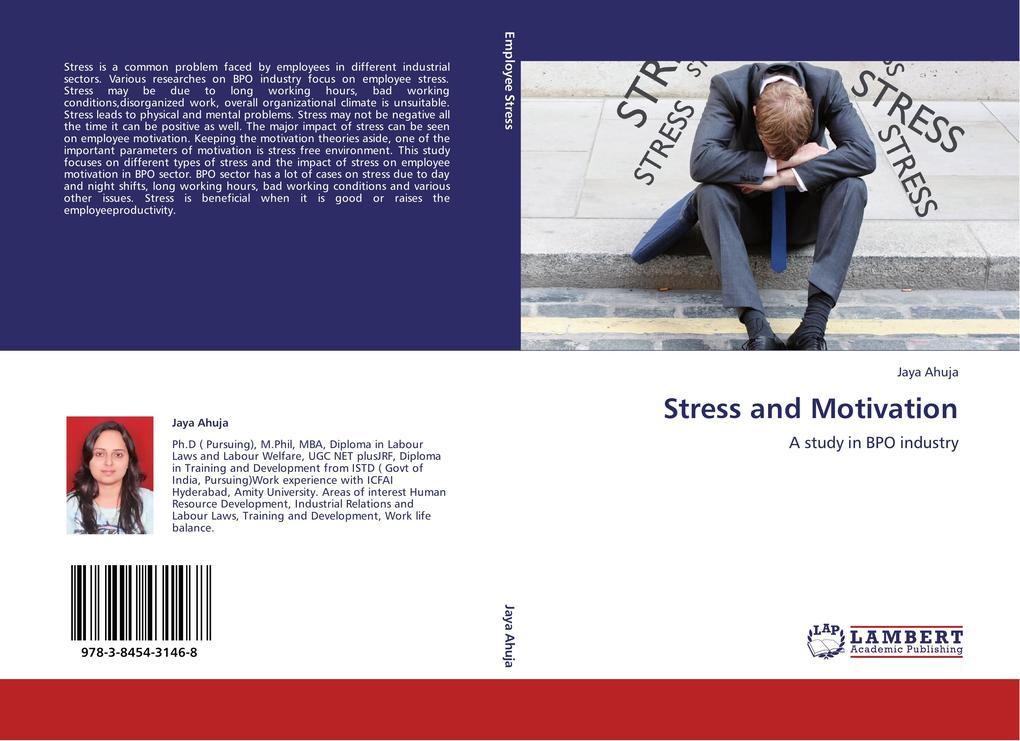 Stress and Motivation als Buch von Jaya Ahuja
