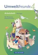 Umweltfreunde 4. Schuljahr. Arbeitsheft Thüringen