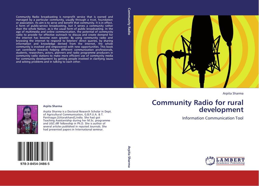 Community Radio for rural development als Buch ...