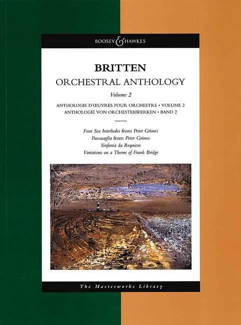 Anthologie von Orchesterwerken als Buch