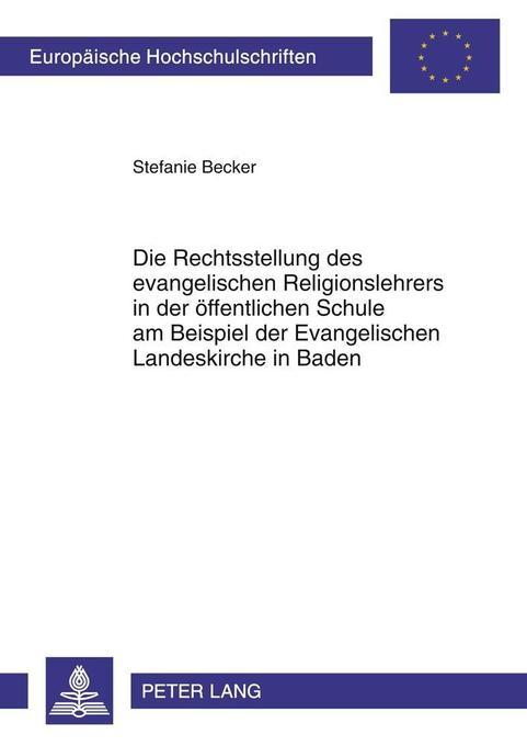 Die Rechtsstellung des evangelischen Religionsl...