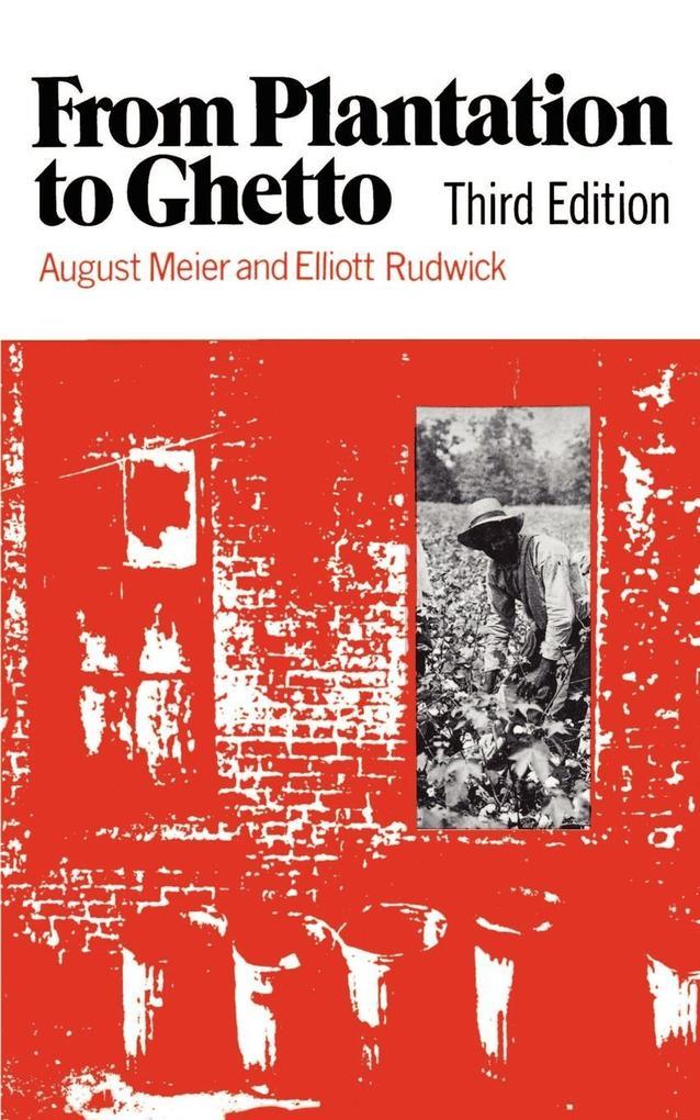 From Plantation to Ghetto als Taschenbuch