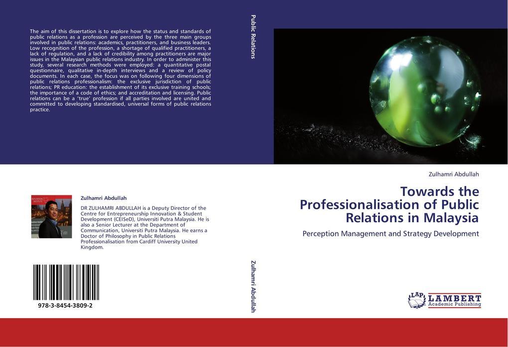 Towards the Professionalisation of Public Relat...