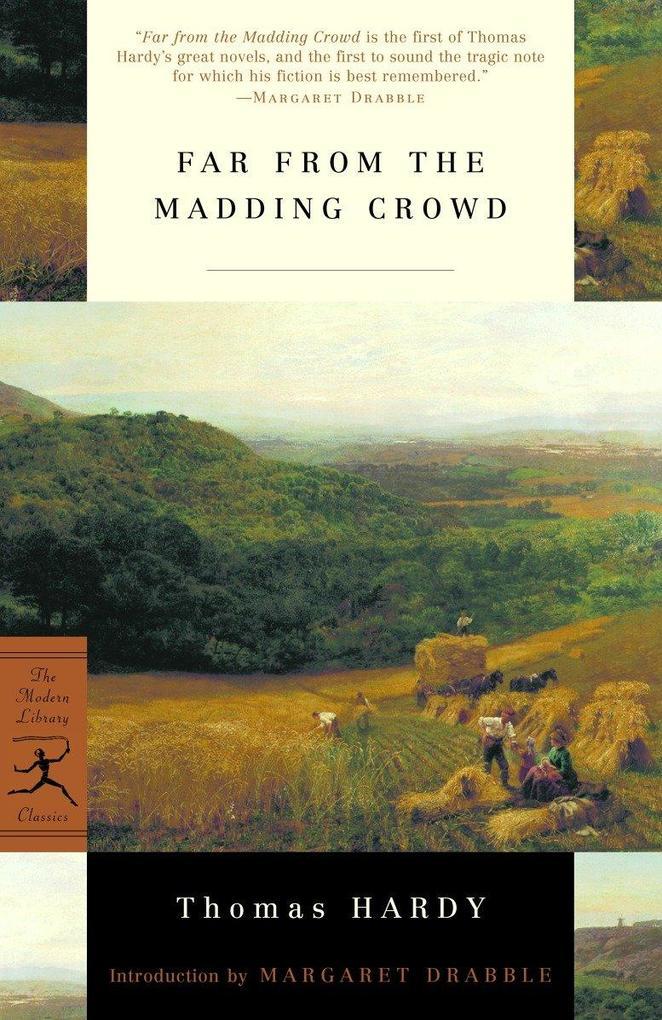 Mod Lib Far From The Madding Crowd als Taschenbuch