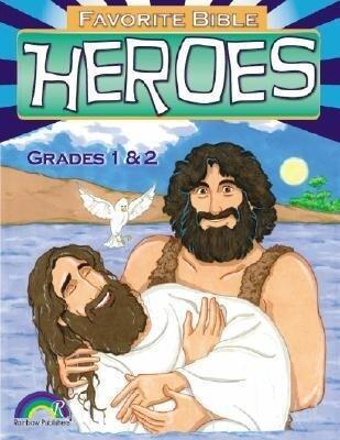 Favorite Bible Heroes Grades 1-2 als Taschenbuch
