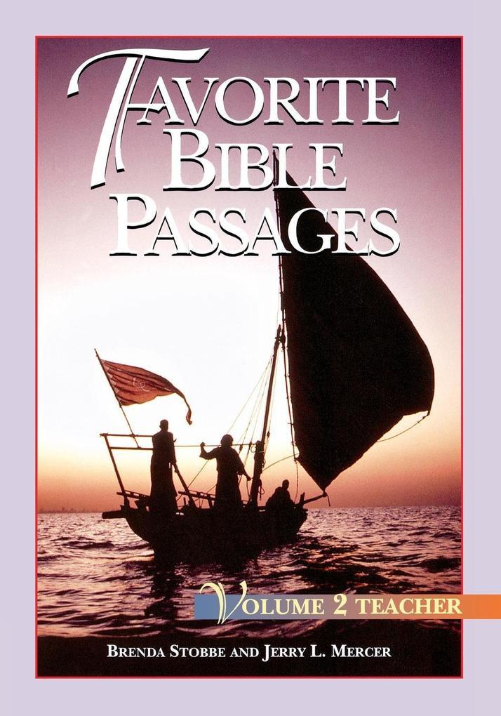 Favorite Bible Passages Volume 2 Leader als Taschenbuch