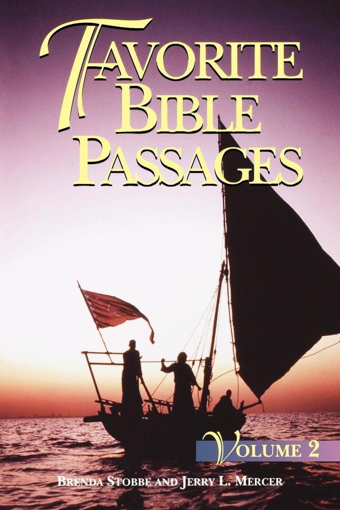 Favorite Bible Passages Volume 2 Student als Taschenbuch