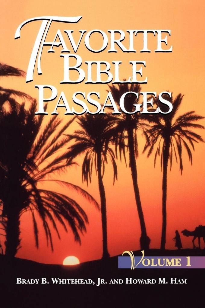 Favorite Bible Passages Volume 1 Student als Taschenbuch