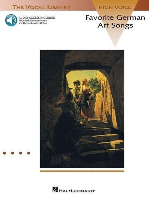 Favorite German Art Songs - Volume 1: The Vocal Library High Voice als Taschenbuch