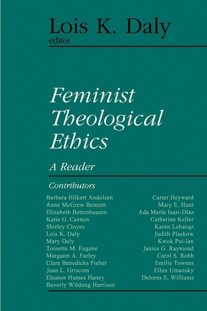 Feminist Theological Ethics als Taschenbuch