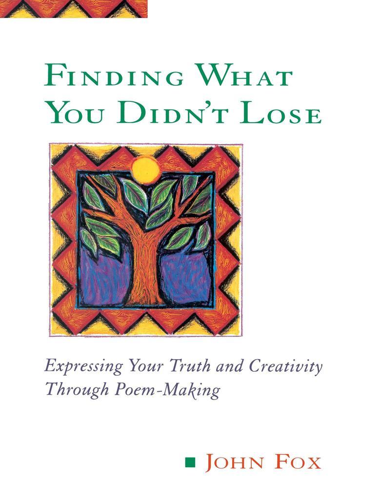Finding What You Didn't Lose als Taschenbuch