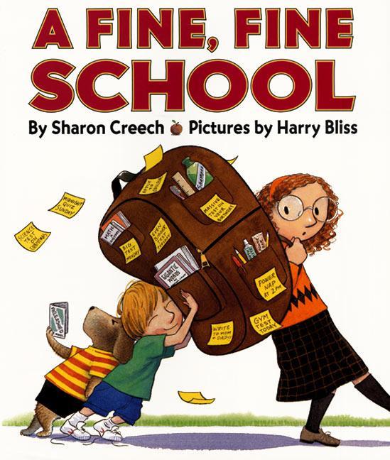 A Fine, Fine School als Buch