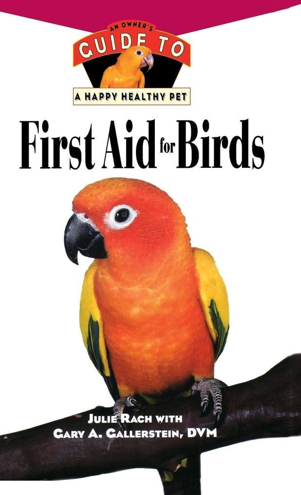 First Aid for Birds als Buch (gebunden)