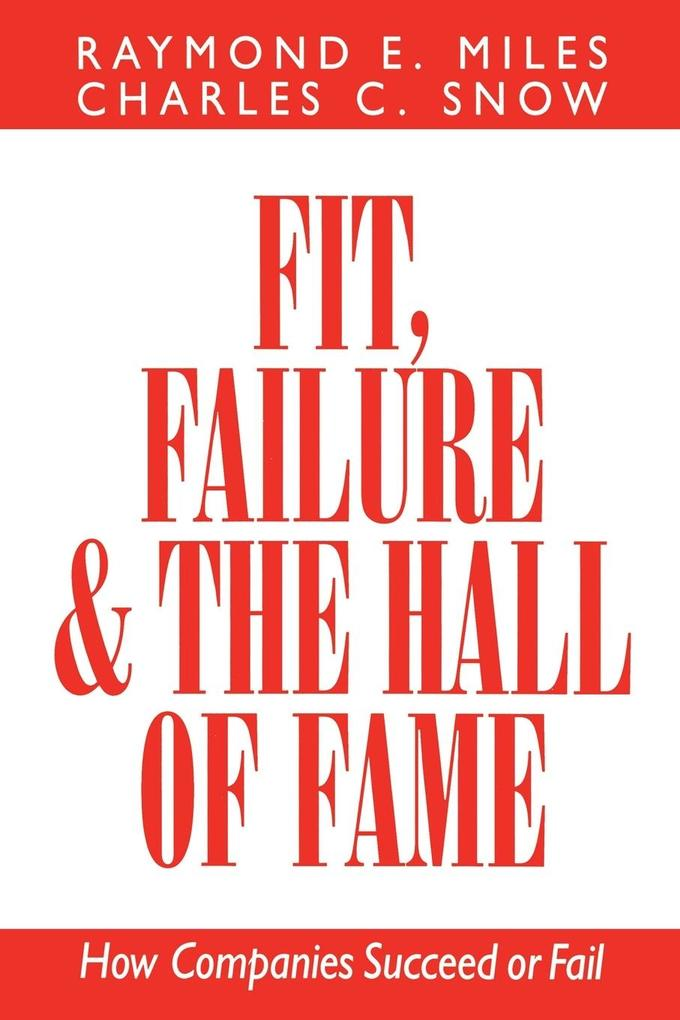 Fit, Failure, and the Hall of Fame als Taschenbuch