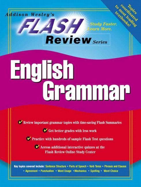 Flash Review for Introduction to English Grammar als Taschenbuch