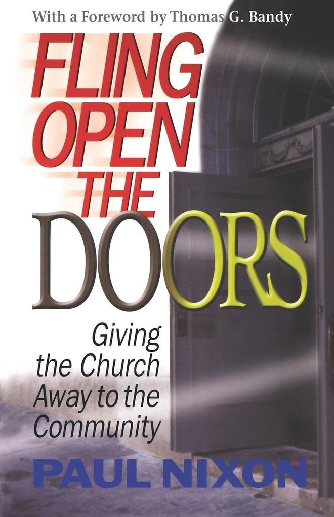Fling Open the Doors als Taschenbuch